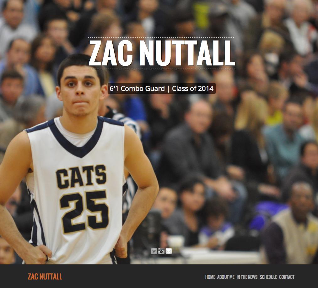 Recent work – ZacNuttall.com Sports Site