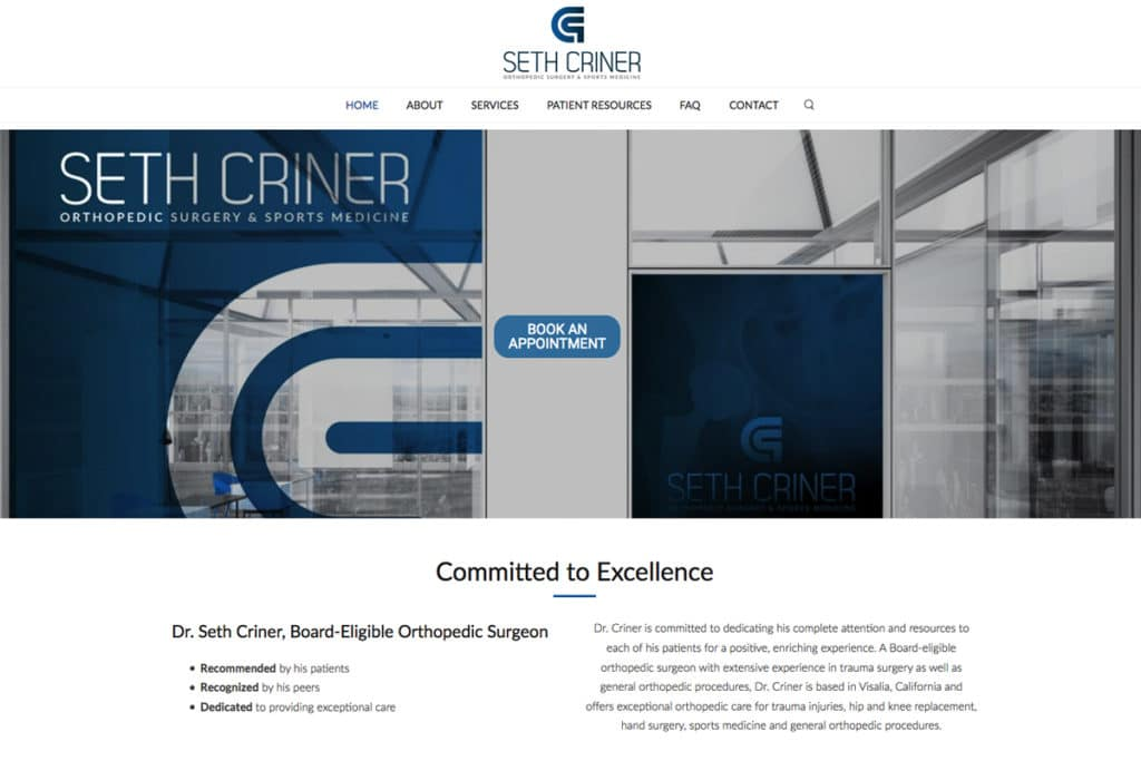 Criner Orthopedics