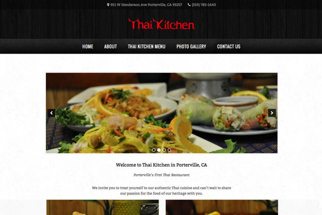 Thai Kitchen – Porterville