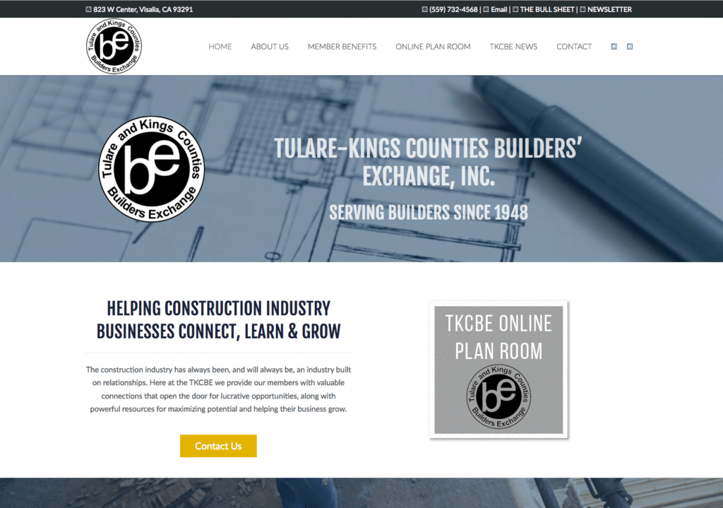 TKCBE – Tulare-Kings County Builders Exchange